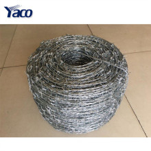 Factory manufacture 200m 400m barbed wire length per roll