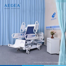 New arrival AG-BR001 Eight functions icu patient healthcare cheap medical bed