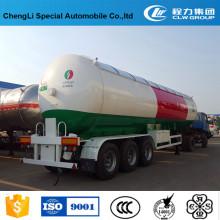 Camion-citerne de transport de camion-citerne de GPL de 60000 litres
