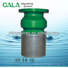 stainless steel screen foot valve