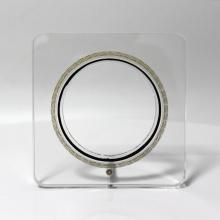 Дисплей коллекции прозрачных акриловых сувенирных монет APEX