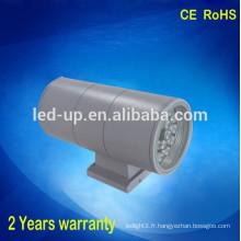 IP65 Hot sale new model 2X18W conduit applique murale flexible éclairage mural
