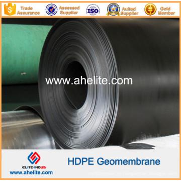 Suave superficie texturizada HDPE Geomembranes 0.5mm a 2.5mm