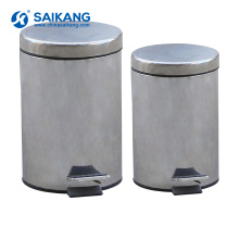 SKH034-1 Hospital Stainless Steel Trash Can With Cheap Price