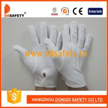 Guante de trabajo 100% Bleach Cotton Interlock Dch114
