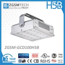 Lumière élevée de baie de 100W E40 LED pour l'entrepôt