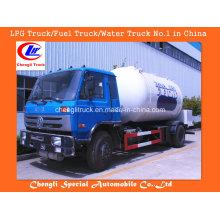 Dongfeng 4X2 Mini caminhão-tanque de GLP Dongfeng LPG Caminhão de GLP Caminhão-tanque de GLP