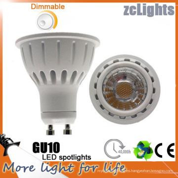 GU10 7W COB lámpara LED Spotlight LED (GU10-A7)