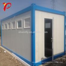 40 Fuß Fabricated Modern Ready Fertig Flat Pack Wohnzimmer Erweiterbar Leistung Container Haus