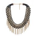 Art- und Weisekristallhalskette, wulstige Halskette, heiße Verkaufs-Schmucksachen