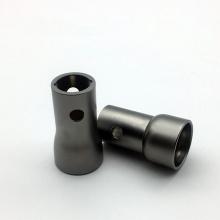 Piezas de torno CNC de torneado CNC anodizado negro AL7075