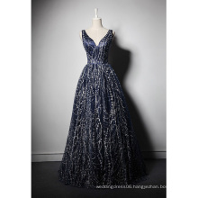 LSQ050 v-neck tank sleeveless natural waist vintage clothing maxi dress dress abiye glitter prom dress
