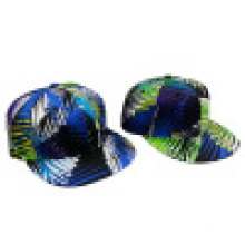 Floral Snapback Cap mit flachem Peak SD1516