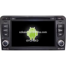Android 4.4 Spiegel-Link Glonass / GPS 1080P Dual-Core-Auto zentrale Multimedia für Audi A3 mit GPS / Bluetooth / TV / 3G