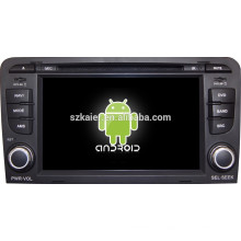 Android 4.4 Mirror-link Glonass / GPS 1080P dual core multimedia central para Audi A3 con GPS / Bluetooth / TV / 3G