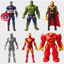 Superhéroe Hero Action PVC Figure Toys (KL-001)
