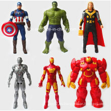 Superman héroe acción PVC figura juguetes (kl-001)