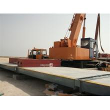 3 * 20m 80t Wiegewaage Elektronische Wiegebrücke LKW Gebraucht