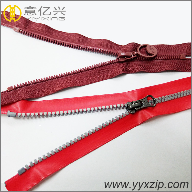 Custom Decorative Zippers