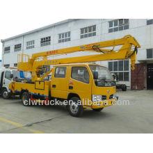 Dongfeng truck mounted aerial work platform,16m Aerial Platform Truck