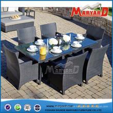 Tische und Stühle Garten Esszimmer Set im Freien Esszimmer Set