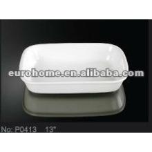 Hotel & Banquet tableware: porcelain plates P0413