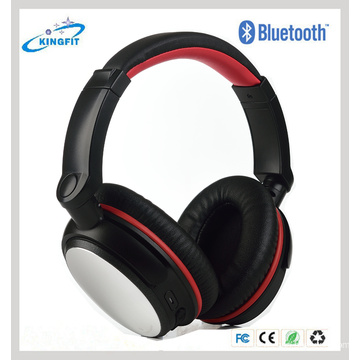 Metal Cover CSR 4.0 Bluetooth Headphone with Noise-Cancelling