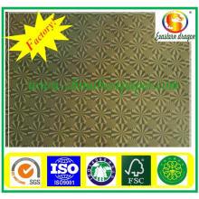 Silver metallized paper/metal coated paper cardboard