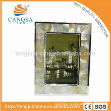 Эко-дружелюбная рамочка для фото из гольдена Гольдена с серебряным краем