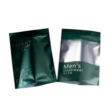 Printing Customized Matte Slider Frosted Plastic Packing Men's underwear Zipper Bag