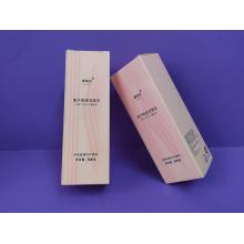 Бумажная коробка с печатным рисунком для косметической упаковки