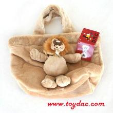 Plüsch Kinder Löwe Tasche