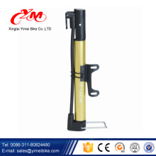 Smallest bicycle air pump / hand operated bike pump with gauge / Sunny mini hand pump