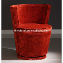 Red round shape hotel chair XY3160