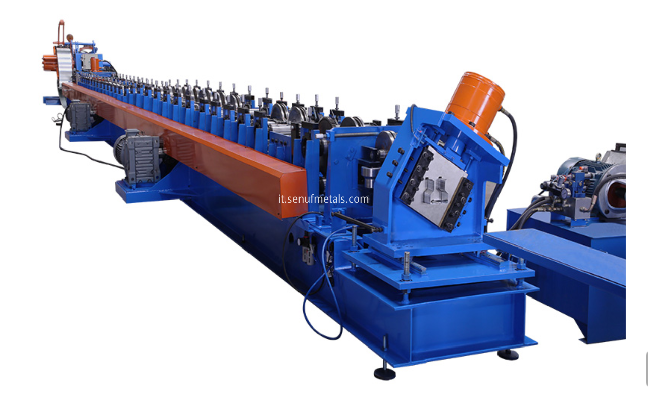 storage rack forming machine