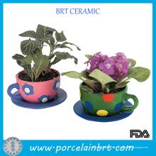 Jardinières New Life Flower Pot à théière
