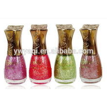 Competitive price customise wholesale nail polish with uv cap