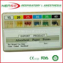 Puntos de papel absorbente desechable HENSO
