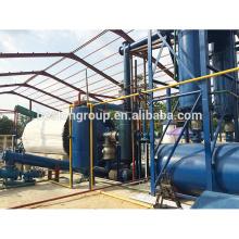 Planta de aceite ahorro de energía de la pirólisis del neumático de la maquinaria