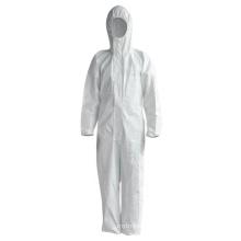 Precio de fábrica traje protector de bata de aislamiento desechables