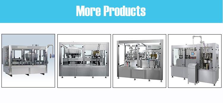 Automatische Konservenmaschine Dosenbier kohlensäurehaltiges Getränk Dosensodagetränke Erfrischungsgetränke Füll- und Verschließmaschine