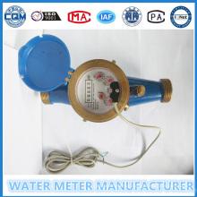 Medidor de fluxo de água de saída de pulso em 100 litros por pulso
