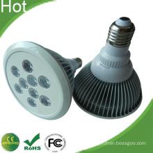 White Finned Housing E27 PAR38 9W LED Lamp
