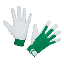NMSAFETY hard work use goat grain leather work gloves