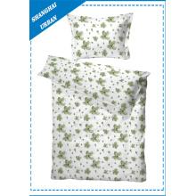 Funda de edredón de algodón para cama individual (conjunto)