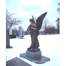 Decoration Sculpture Bronze Angel Statue for Sale