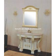 Gabinete de banheiro de madeira Ancinet (1821)
