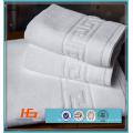 5 Star Hotel High Quality White Cotton Jacquard 100 Cotton Towel