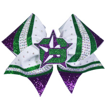 Custom Logo Mixed Colours Cheer Style Bows