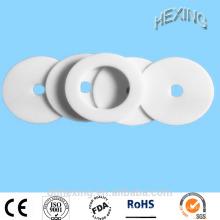 Junta plástica virginal blanca del teflón del ptfe de la venta caliente de la alta calidad